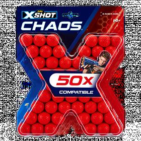 Набір кульок x-shot (50 шт.) (36327Z)