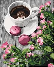 Картина по номерам Романтический кофе