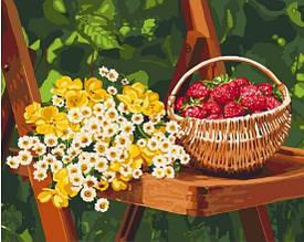 Картина за номерами Літні дари