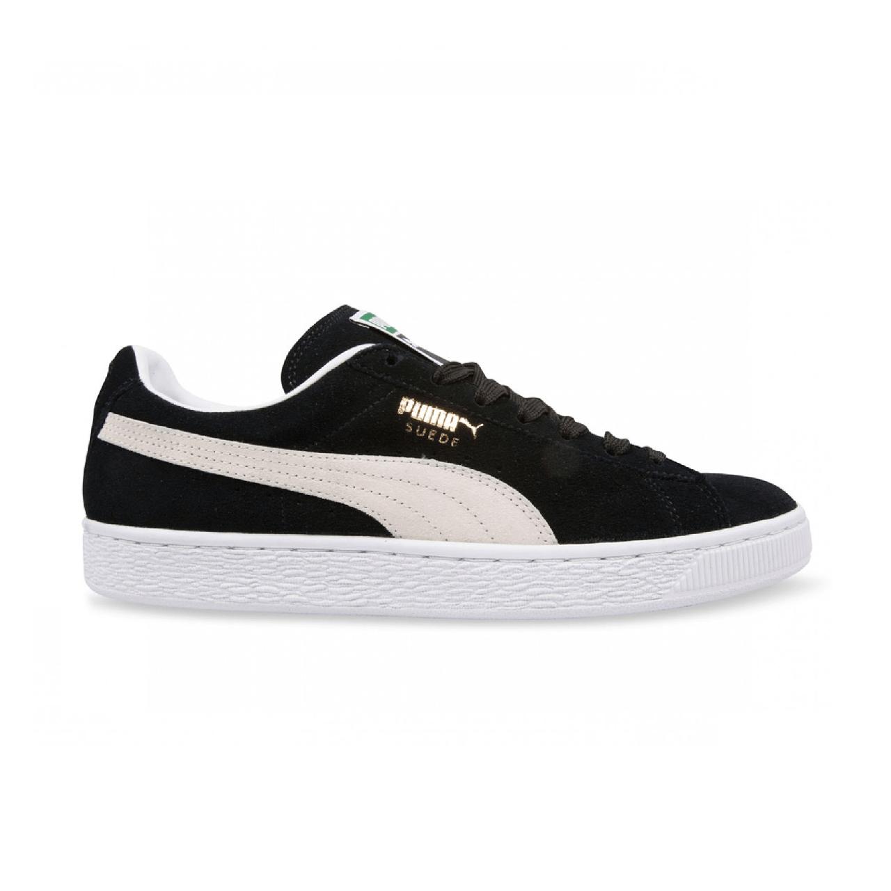 Кроссовки Puma Suede Black/White (реплика)