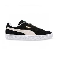 Кроссовки Puma Suede Black/White (реплика), фото 1