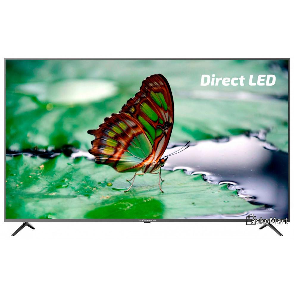 Телевизор 58 дюймов Grunhelm G58USF8G 3840х2160 Smart TV (4K) Ultra HD (94848)
