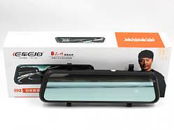 """Відеореєстратор дзеркало заднього виду 10"""" сенсорний екран 2 камери Full HD Car DVR E92"""