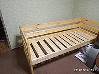 Кровать детская из массива сосны-1500 грн