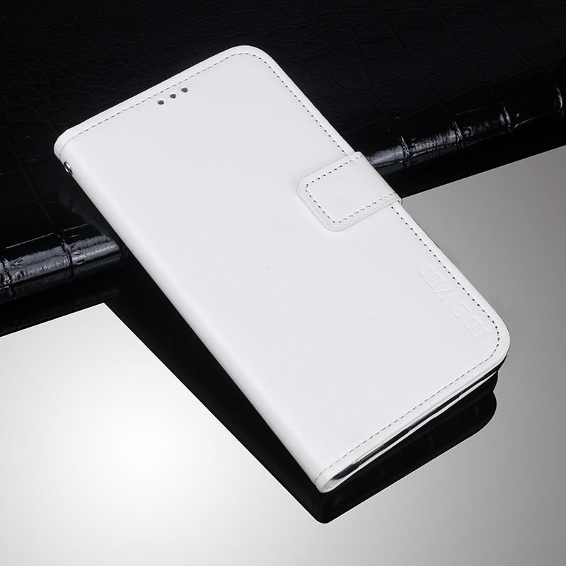 Чехол Idewei для Samsung Galaxy M21 (M215) книжка с визитницей белый