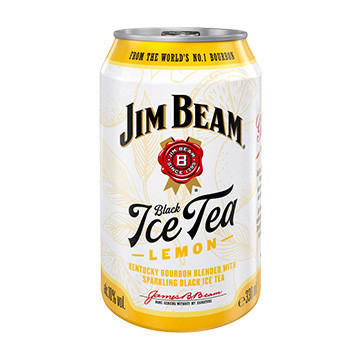 Jim Beam Ice Tea Lemon 10% 330 ml