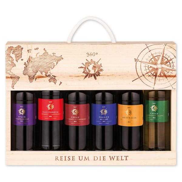 Подарочный набор вина 360° 6*0,25 ml