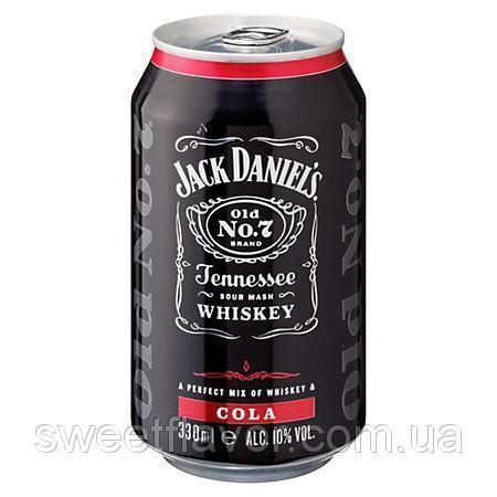 Jack Daniel's & Cola 330 ml 10% Alk