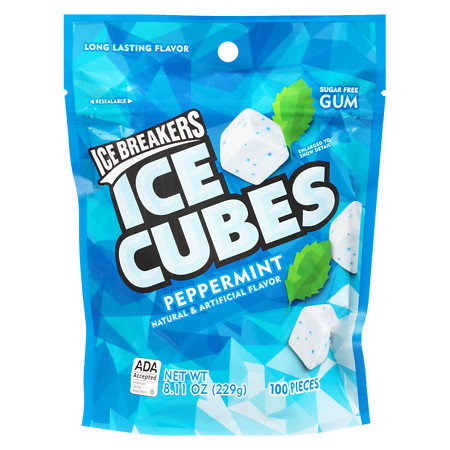 Ice Cubes Peppermint 229 g