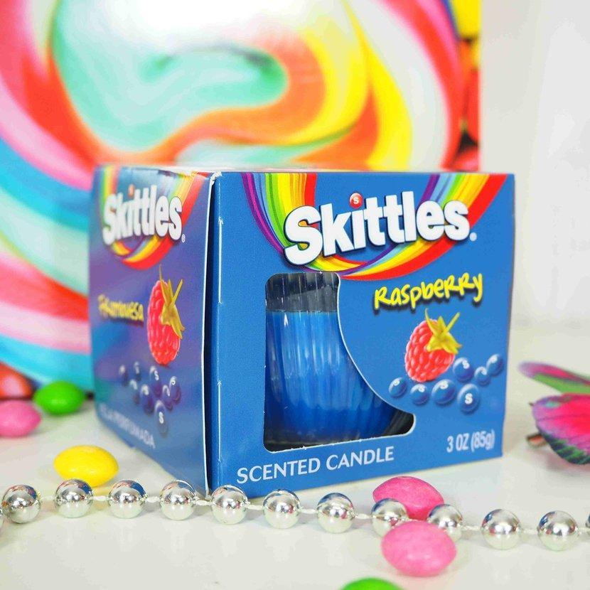 Ароматическая свеча Skittles Raspberry 85 g