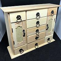 Деревянная заготовка (29*22*9см) шкафчик