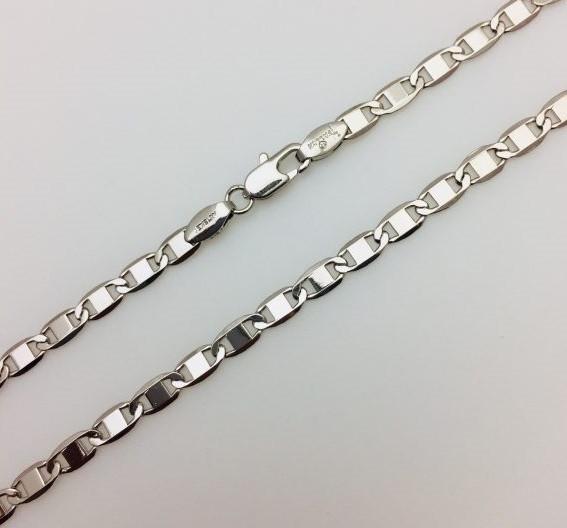 Цепочка, плетение Якорная цепь 48 см.D- 0.4 Ювелирная бижутерия Fallon