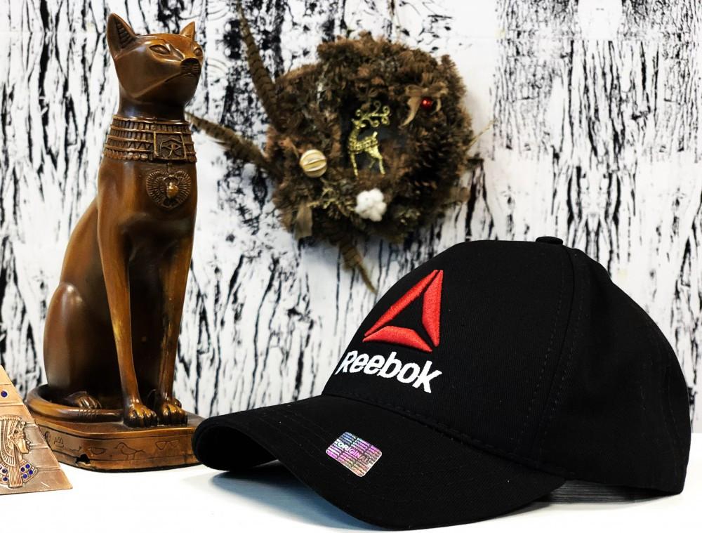 Брендовая кепка Reebok 21181 черная