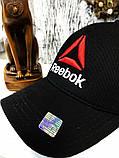 Брендовая кепка Reebok 21181 черная, фото 3