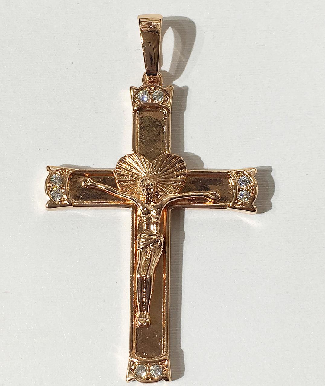 Крест на цепочку под советское золото