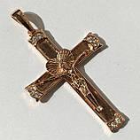 Крест на цепочку под советское золото, фото 2