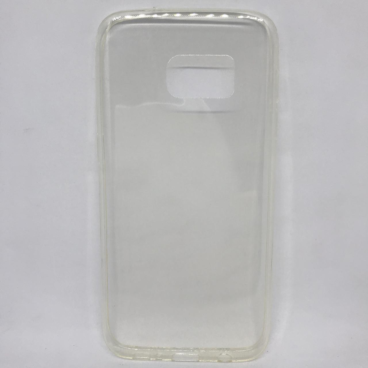 Чехол Накладка Samsung S7 прозрачный