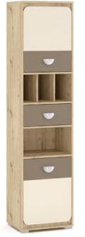Шкаф пенал 2Д1Ш(50) Лами Мебель Сервис