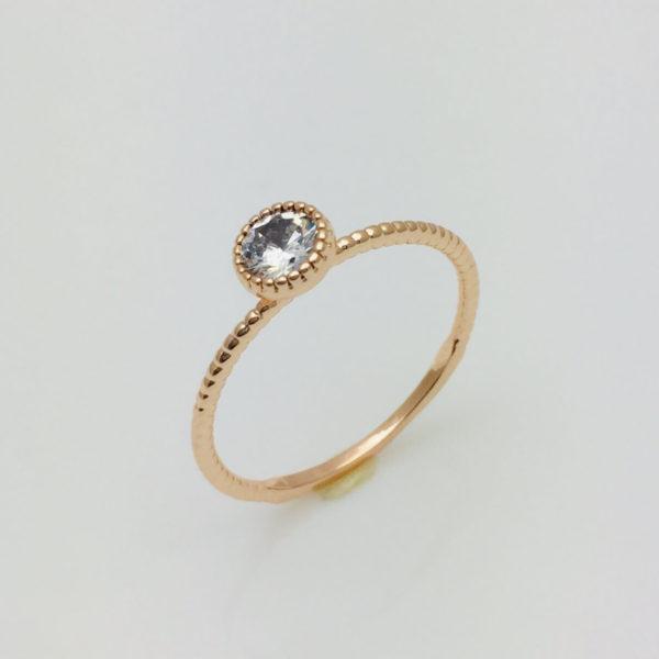 Кольцо на палец Лаура, размер 17, 18