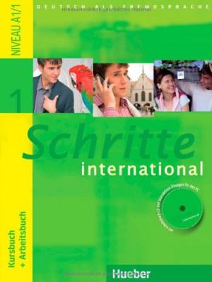 Schritte International 1 A1.1 Kursbuch + Arbeitsbuch