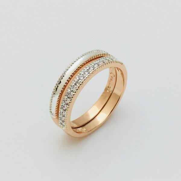 Кольцо Грация, размер 20 позолота 18К Fallon