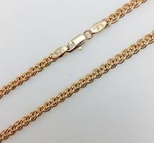 Цепочка плетение Нона, Н-0.4 длина 50 см, ювелирная бижутерия