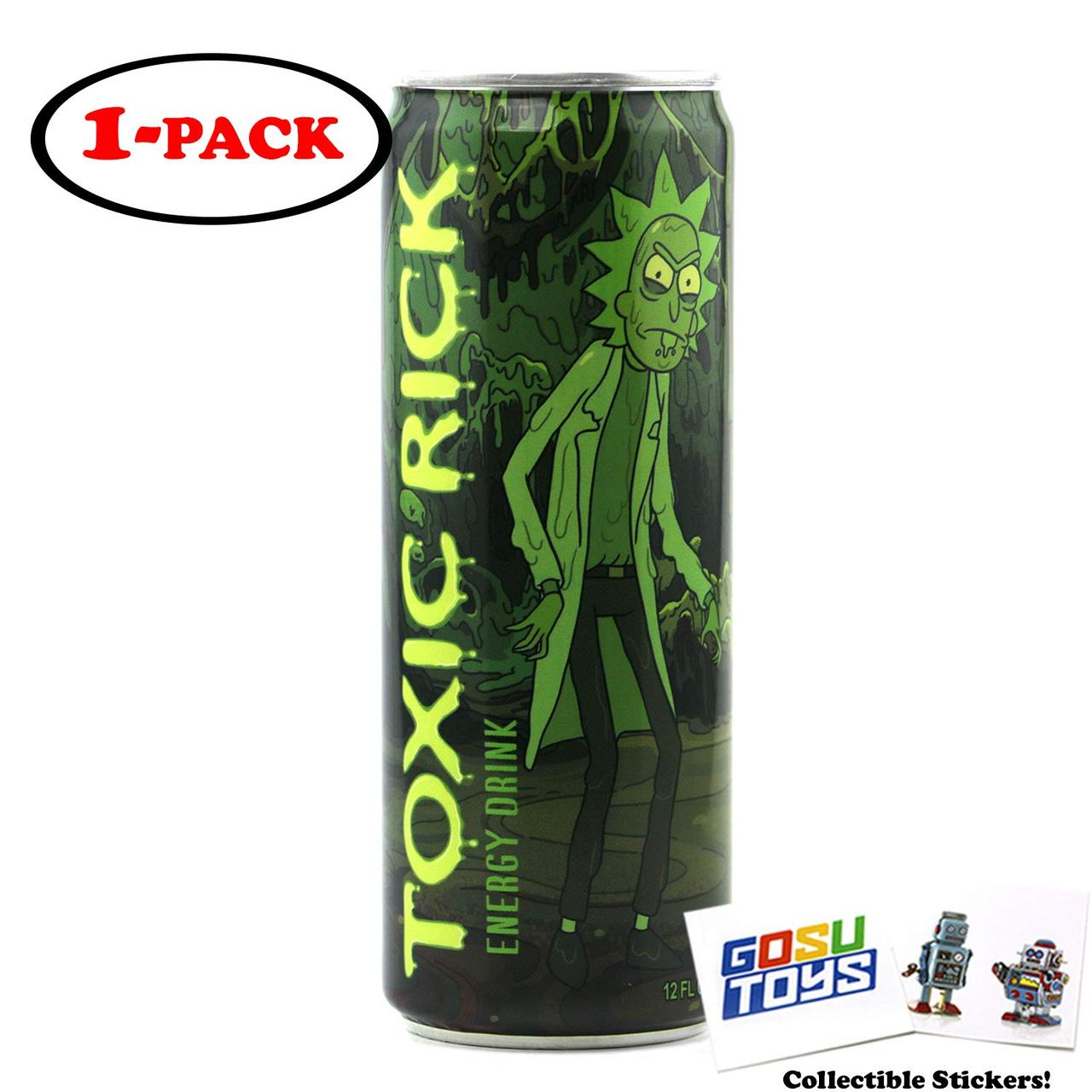 Energy Drink Toxic Rick and Morty  355 ml