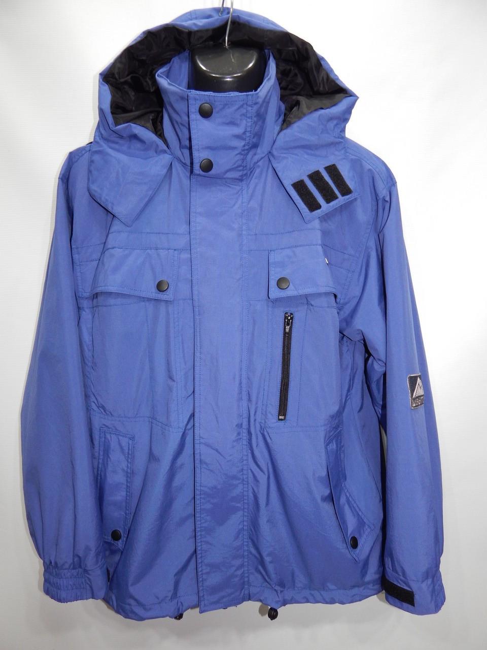 Мужская спортивная куртка  ветровка Autocolor р.48-50 052KMD