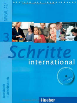 Schritte International 3 A2.1 Kursbuch + Arbeitsbuch