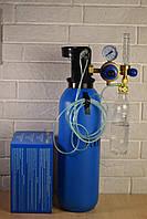 Увлажнитель кислорода медицинский с расходомером и редуктором/ кислородный регулятор, фото 1