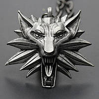 "Медальон (кулон) Ведьмака ""Волк""(Копия)"