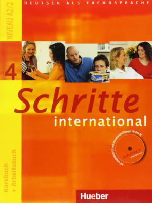 Schritte International 4 A2.2 Kursbuch + Arbeitsbuch
