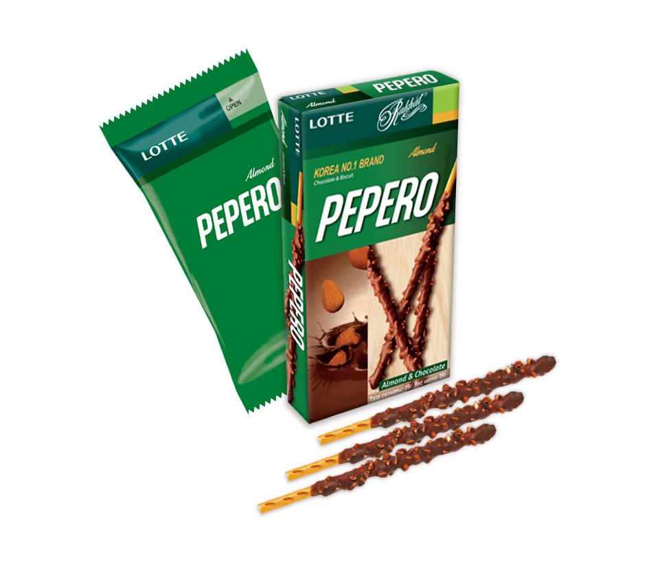Lotte Pepero Almond 50 g