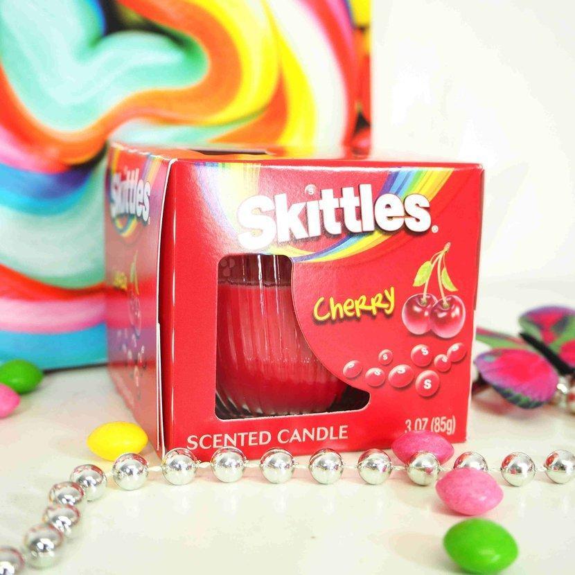 Ароматическая свеча Skittles Cherry 85 g