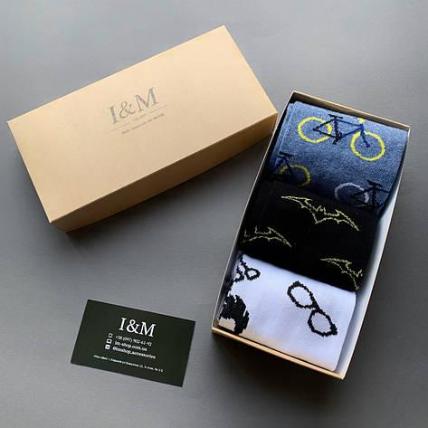 Набор носков I&M Craft для мужчин из 3-х пар (070881), фото 2
