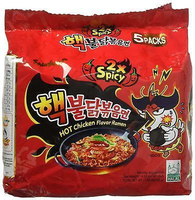Hot Chicken Ramune Spicy 1 Pack