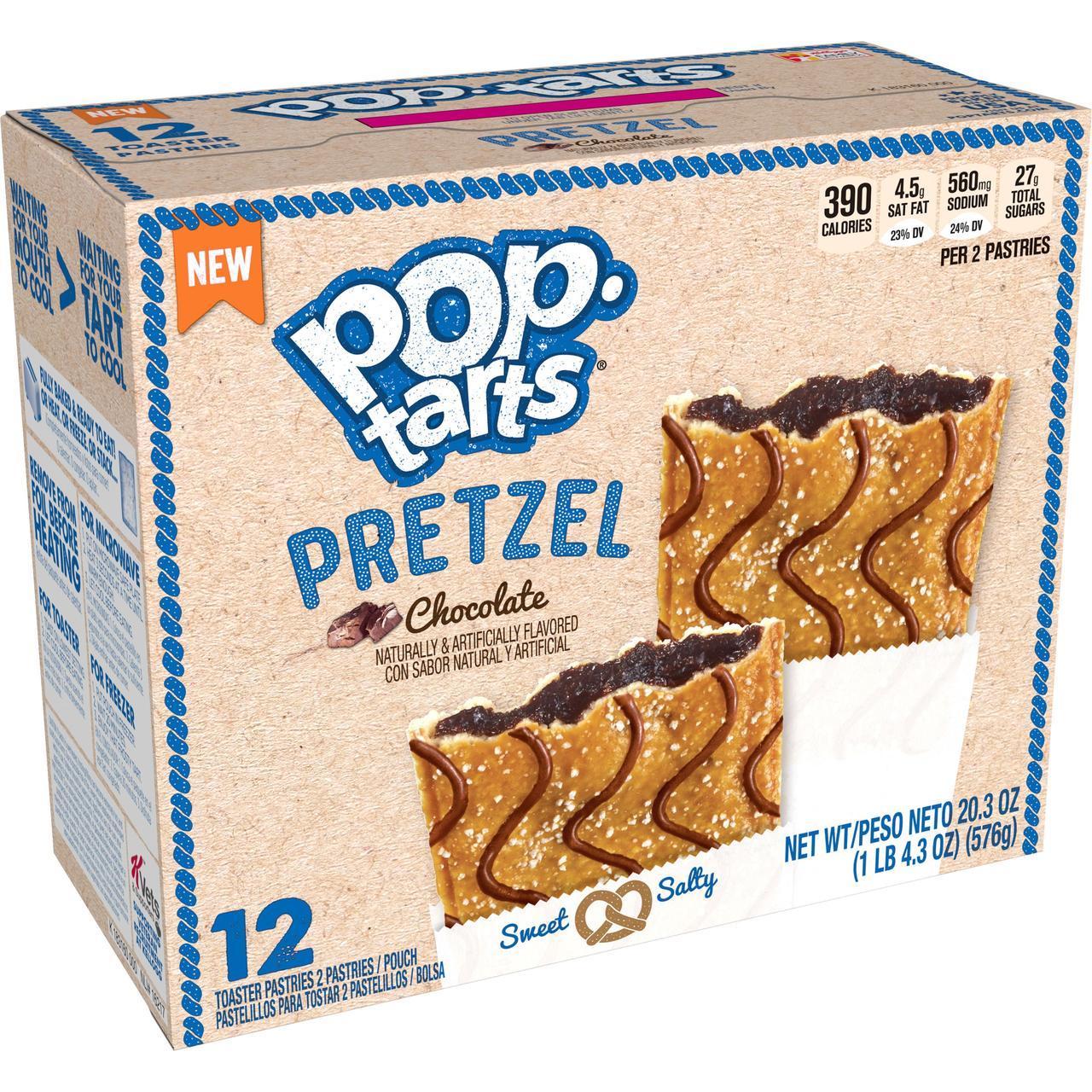 Pop Tarts Choco Pretzel 576 g