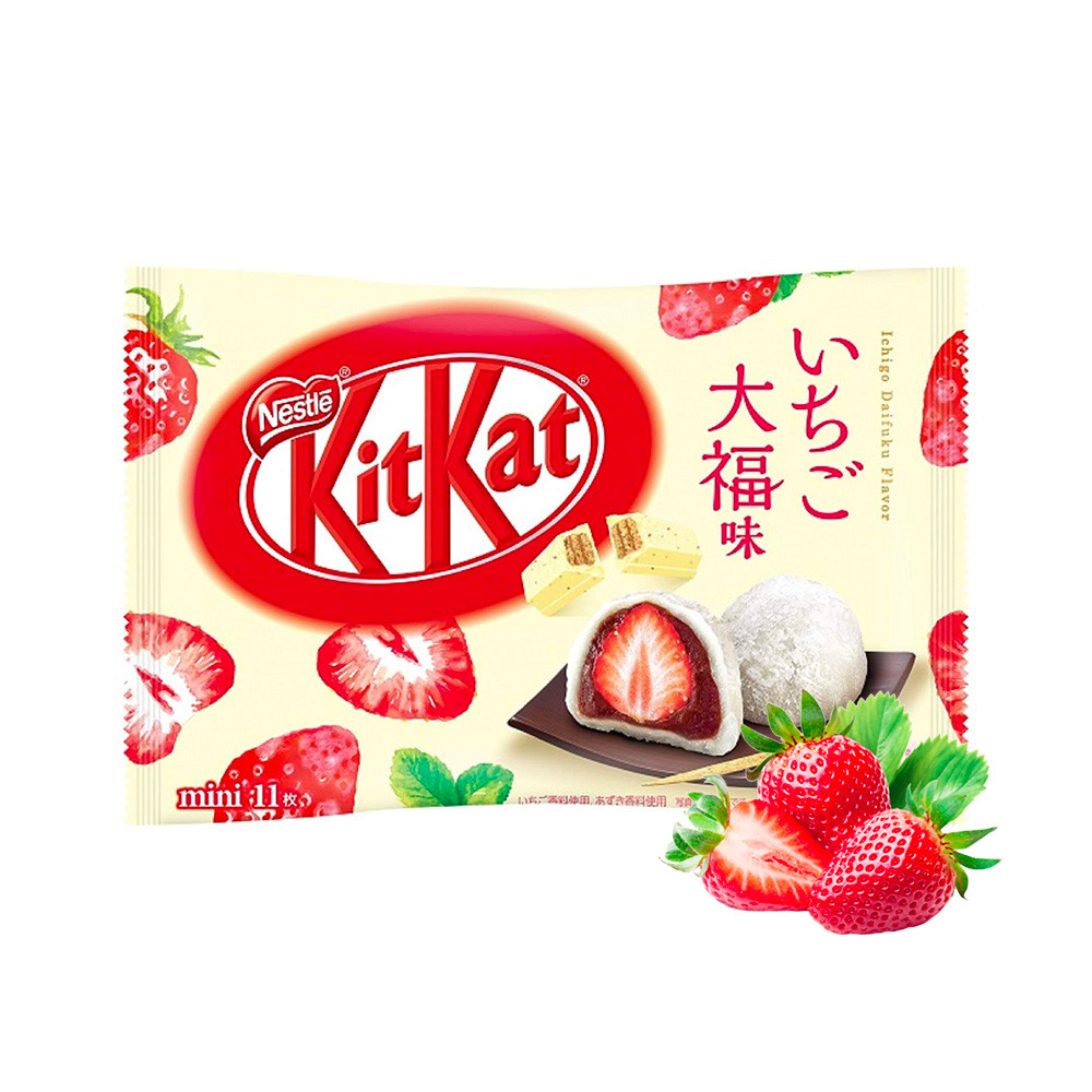 Kit Kat Strawberry Mochi Упаковка