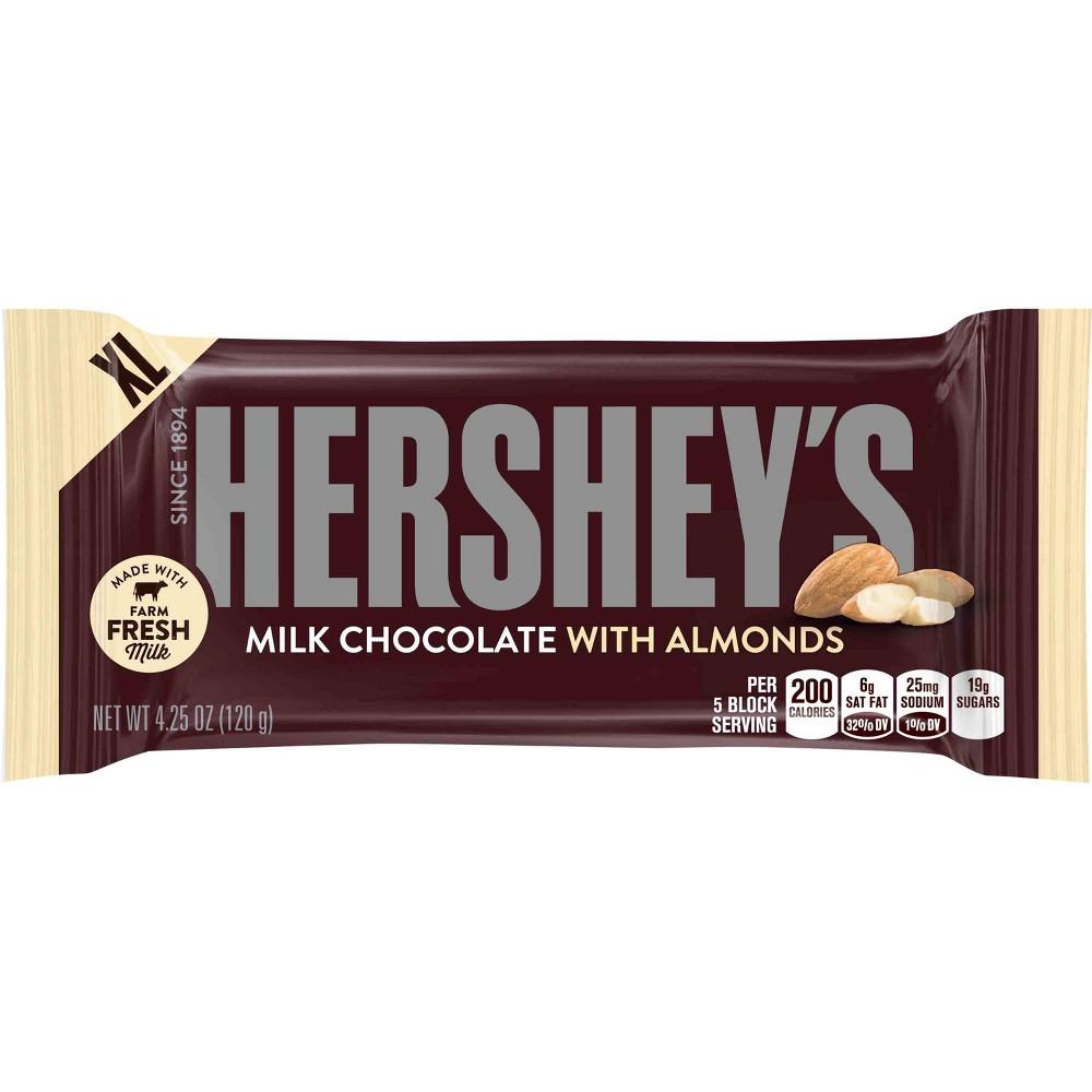 Hershey's Milk Chocolate Almonds 120 g