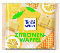 Mini Ritter Sport Zitrone-Waffel 16 g