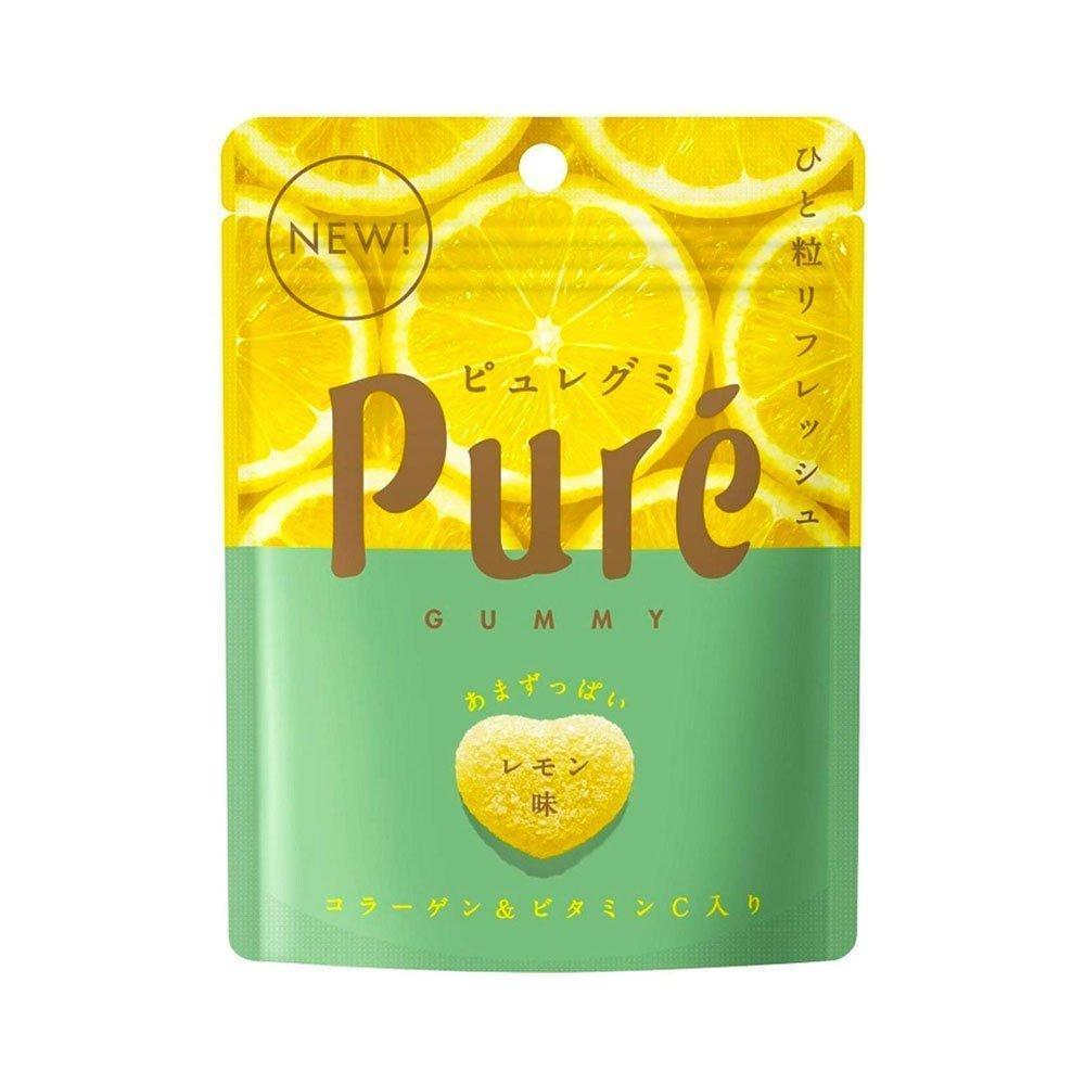 Pure Gummi Lemon 56 g