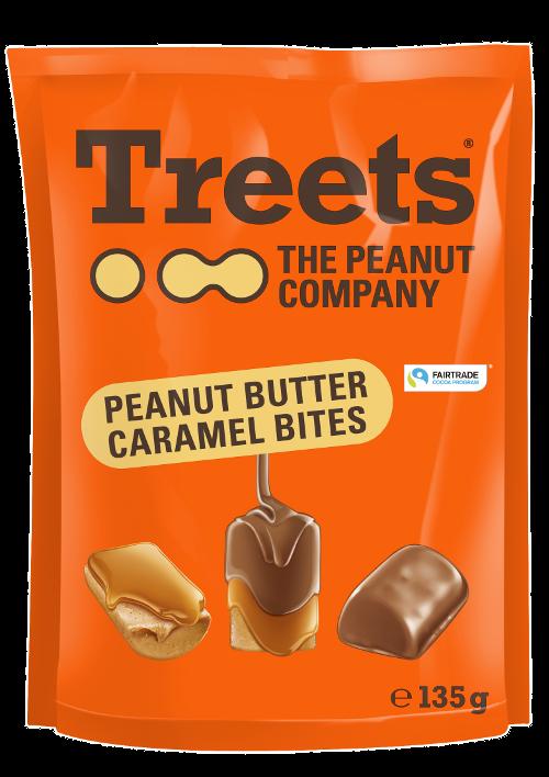 Treets Peanut Butter Caramel Bites 135 g
