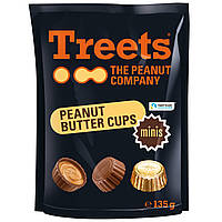 Treets Peanut Butter Cups Minis 135 g
