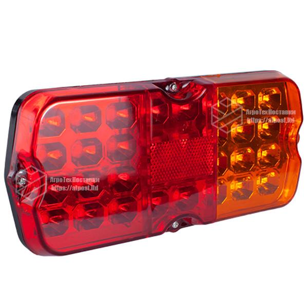 Фонарь LED задний универсальный 230 х 105 х 70 12В (УАЗ)