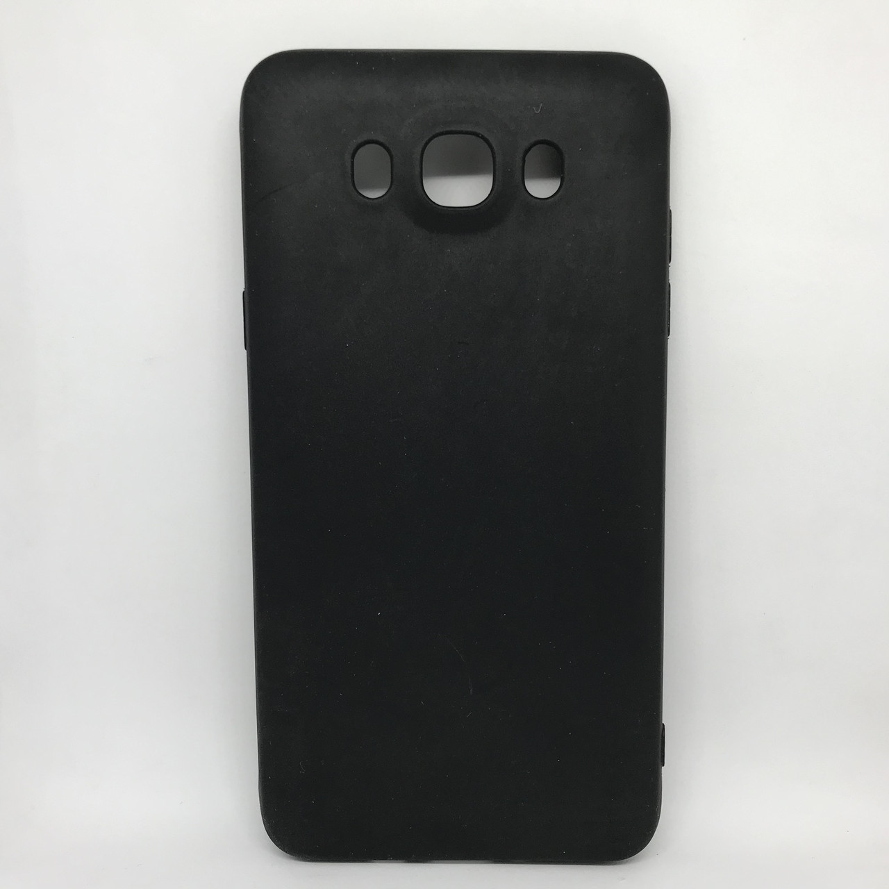 Чехол Накладка silicone Samsung J710 black
