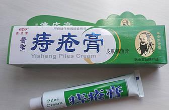 Мазь от наружного геморроя Yisheng Piles Cream Хуато 25г