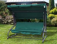 Садовая качеля-диван Relax Plus зеленая Польша
