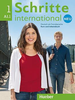 Schritte international Neu 1 A1.1 Kursbuch + Arbeitsbuch