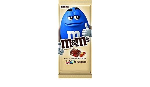 Шоколад Milk Chocolate Bar Almonds M&m's 110 g