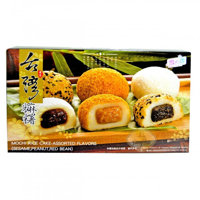Mochi Rice Cake Assorted Flavors 450 g